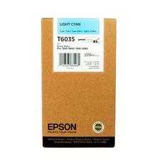 Eredeti Epson T603 világos-ciánkék patron