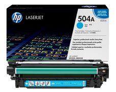Eredeti HP 504A ciánkék toner (CE251A)