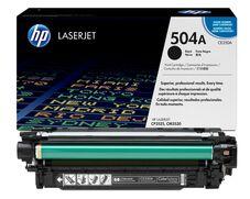 Eredeti HP 504A fekete toner (CE250A)