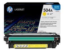 Eredeti HP 504A sárga toner (CE252A)