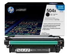 Eredeti HP 504X nagy kapacitású fekete toner (CE250X)