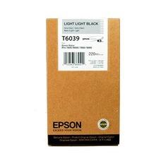 Eredeti Epson T603 világos-szürke patron