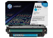 Eredeti HP 646A ciánkék toner (CF031A)
