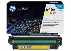Eredeti HP 646A sárga toner (CF032A)