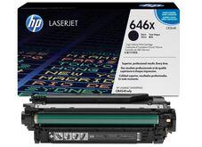 Eredeti HP 646X nagy kapacitású fekete toner (CE264X)