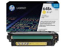 Eredeti HP 648A sárga toner (CE262A)