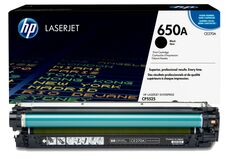Eredeti HP 650A fekete toner (CE270A)