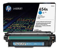 Eredeti HP 654A ciánkék toner (CF331A)