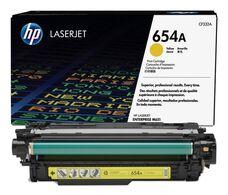 Eredeti HP 654A sárga toner (CF332A)