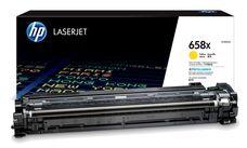 Eredeti HP 658X nagy kapacitású sárga toner (W2002X)