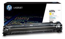 Eredeti HP 659X nagy kapacitású sárga toner (W2012X)