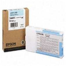 Eredeti Epson T605 világos-ciánkék patron