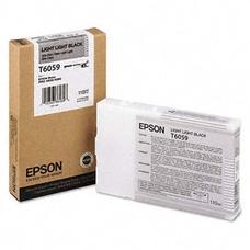 Eredeti Epson T6059 világos világos fekete patron