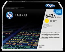 Eredeti HP 643A sárga toner (Q5952A)