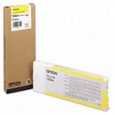 Eredeti Epson T606 sárga patron