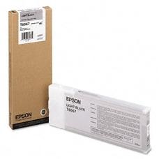 Eredeti Epson T6067 világos fekete patron