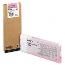 Eredeti Epson T606C világos magenta patron