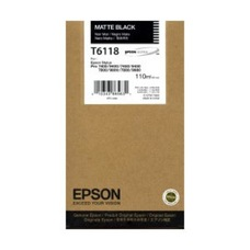 Eredeti Epson T611 matt-fekete patron