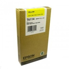 Eredeti Epson T611 sárga patron