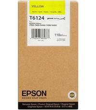 Eredeti Epson T612 sárga patron