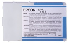 Eredeti Epson T613 ciánkék patron