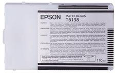 Eredeti Epson T613 matt-fekete patron