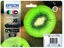 Eredeti Epson 202XL nagy kapacitású multipack (5 szín)