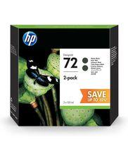 Eredeti HP 72 nagy kapacitású matt fekete dupla csomag (P2V33A)