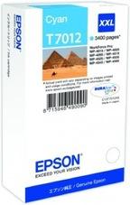 Eredeti Epson T7012 ciánkék patron