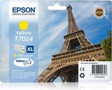Eredeti Epson T7024 sárga patron