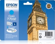 Eredeti Epson T7032 ciánkék patron