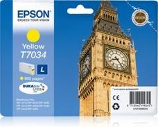 Eredeti Epson T7034 sárga patron