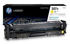 Eredeti HP 207X nagy kapacitású sárga toner (W2212X)