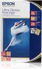 Epson Ultra Glossy Photo Paper, 100 X 150 mm, 300g, 50 lap