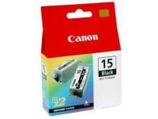 Eredeti Canon BCI-15BK fekete patron