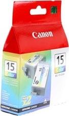 Eredeti Canon BCI-15C színes patron