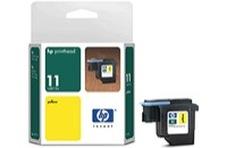 Eredeti HP 11 sárga nyomtatófej (C4813A)