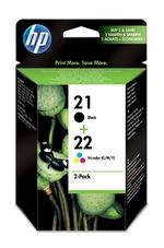 Eredeti HP 21 és 22 színes csomag (SD367AE)