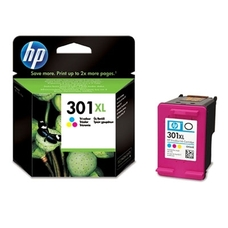 Eredeti HP 301XL nagy kapacitású színes patron (CH564EE)
