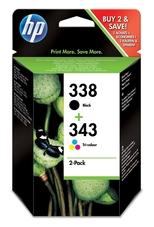 Eredeti HP 338 és 343 színes csomag (SD449EE)