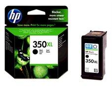 Eredeti HP 350XL nagy kapacitású fekete patron (CB336EE)