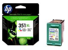 Eredeti HP 351XL nagy kapacitású színes patron (CB338EE)