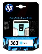 Eredeti HP 363 világos ciánkék patron (C8774EE)