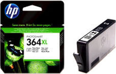 Eredeti HP 364XL nagy kapacitású foto fekete patron (CB322EE)