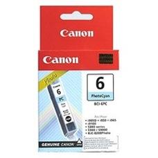 Eredeti Canon BCI-6PC foto ciánkék patron