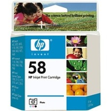 Eredeti HP 58 foto színes patron (C6658A)