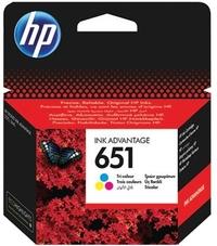 Eredeti HP 651 színes patron (C2P11AE)