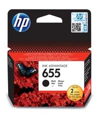 Eredeti HP 655 fekete patron (CZ109AE)