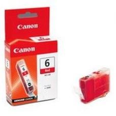 Eredeti Canon BCI-6R piros patron