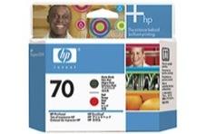 Eredeti HP 70 matt fekete és piros nyomtatófej (C9409A)